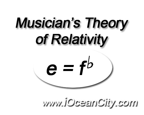 Musical Theory of Relativity