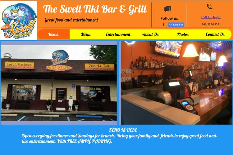 The Swell Tiki Bar & Grill Rehoboth